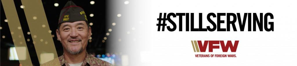 #StillServing banner