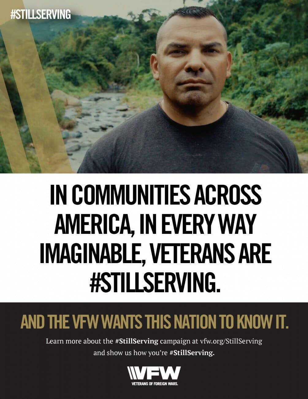 #StillServing poster