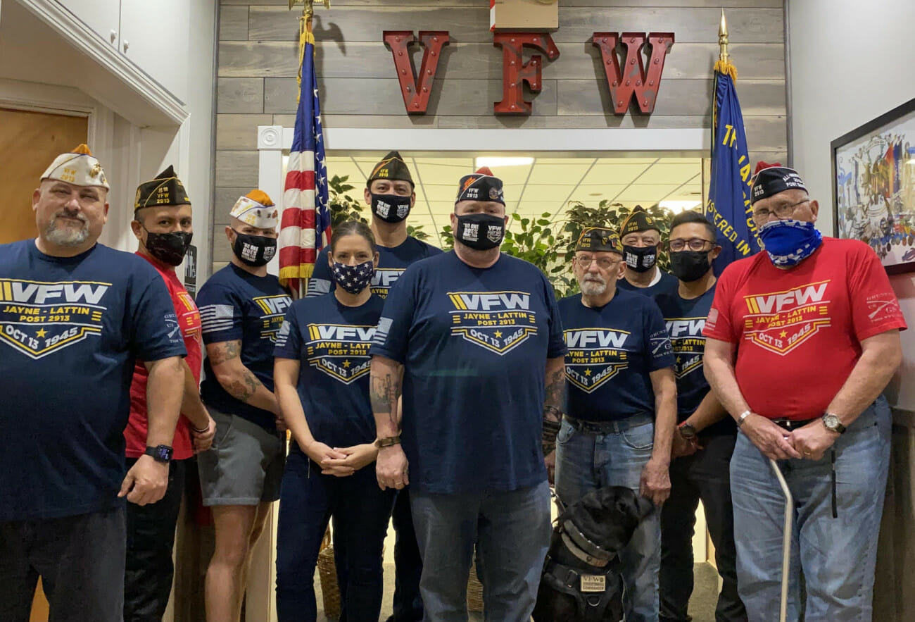 VFW Post 2913 #StillServing Post of the Month
