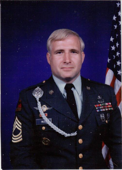 Veteran Dennis Mull