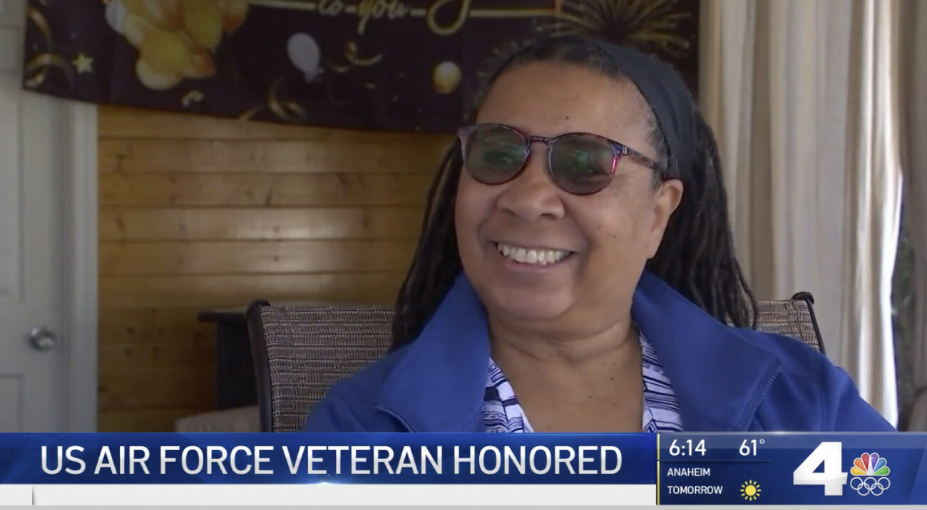 US Air Force Veteran Honored During Black History Month